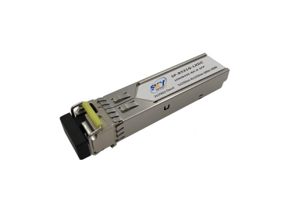 2.5G BiDi SFP Tx1550nm Rx1310nm 20km, 2G Fibre Channel and SONET/SDH OC-48/STM-16